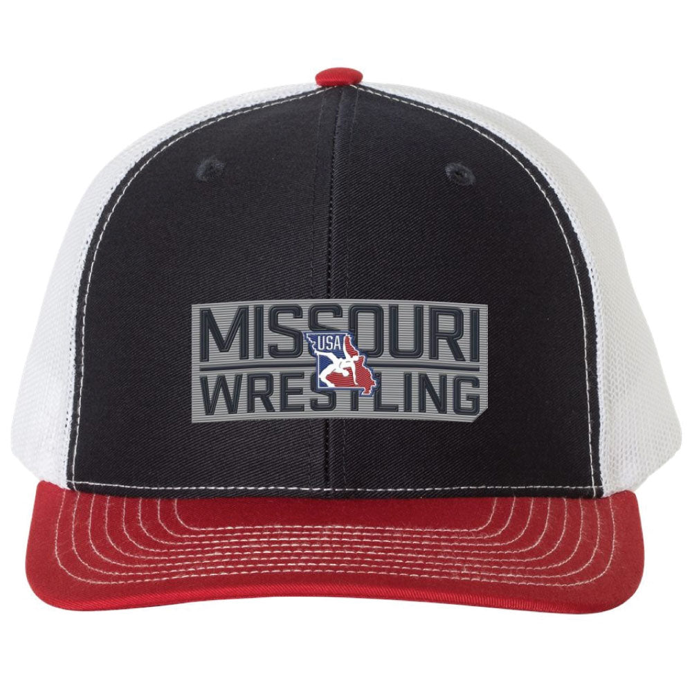 2020 Missouri USA Wrestling Richardson Trucker Hat