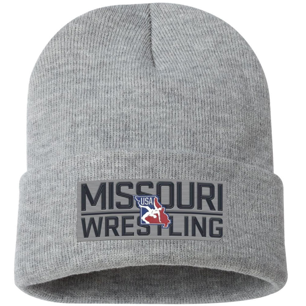 2020 Missouri USA Wrestling Knit Hat