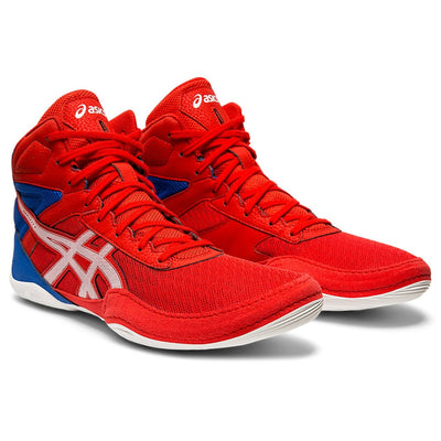 Asics Matflex 6 Wrestling Shoes (Classic Red / White)