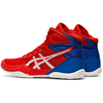 Asics Matflex 6 GS Youth Wrestling Shoe (Classic Red / White)
