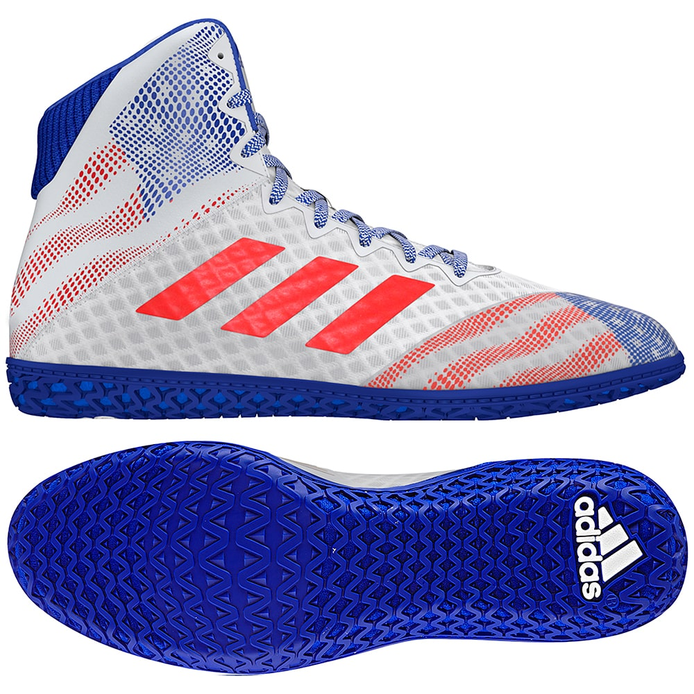 Adidas Mat Wizard Hype (White / Royal / Red)