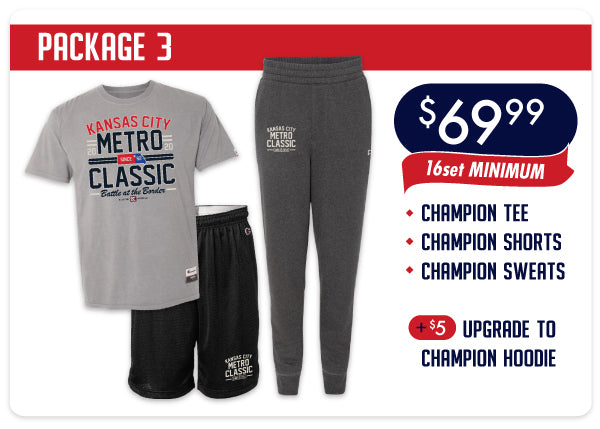 Metro Classic Package #3