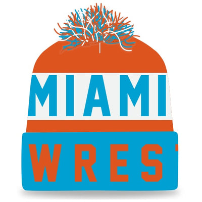 Miami Wrestling Knit In Beanie