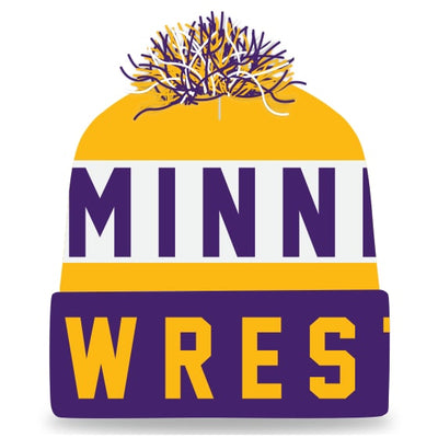 Minnesota Wrestling Knit In Beanie