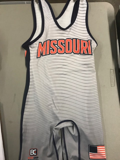 Missouri USA Wrestling Singlet 2017