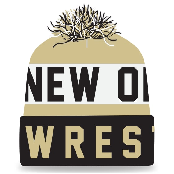 New Orleans Wrestling Knit In Beanie