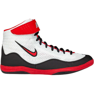 Nike Inflict 3 Wrestling Shoes (Black / White / Red)