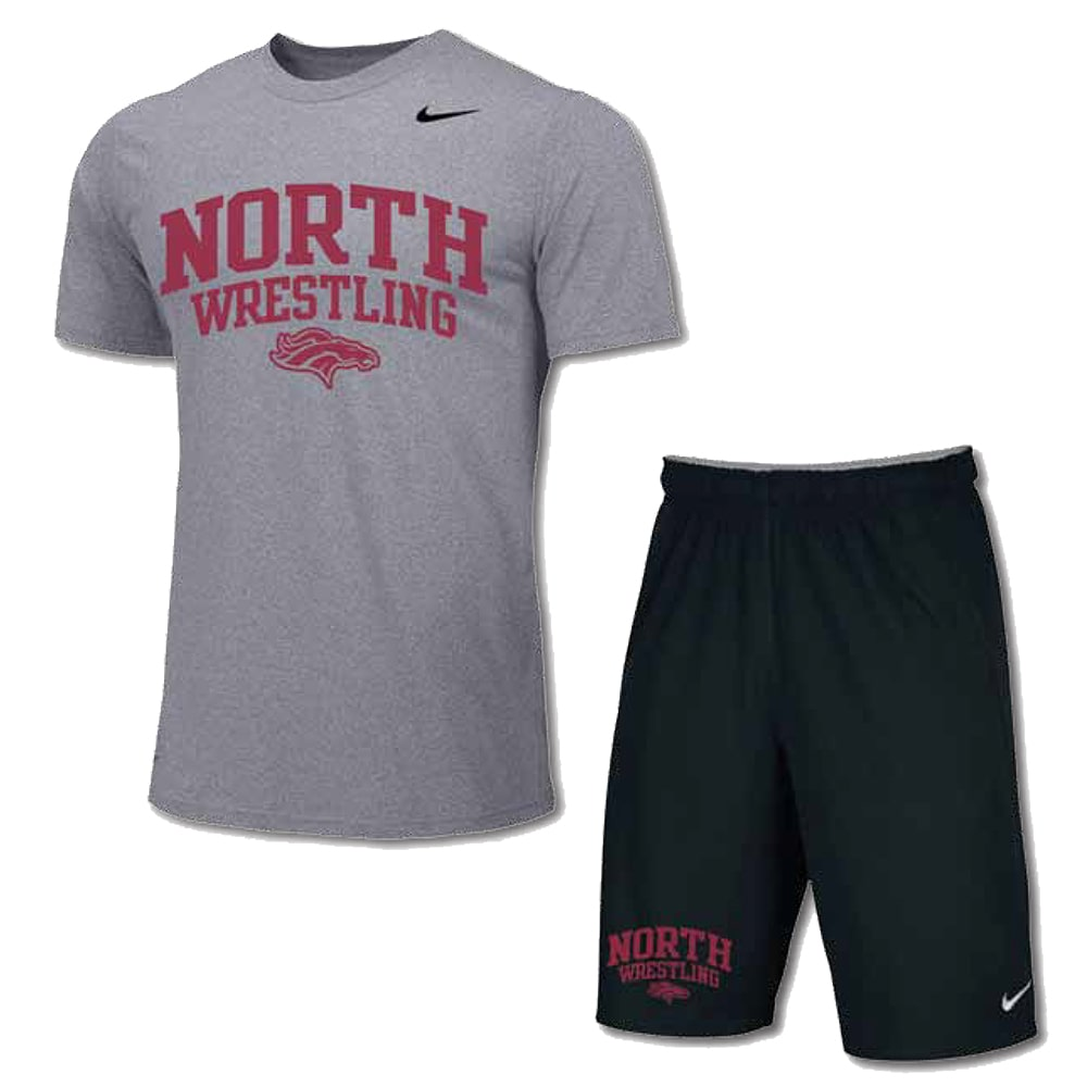 Nike Pack #1 (Nike Wrestling Shirt and Shorts Combo)