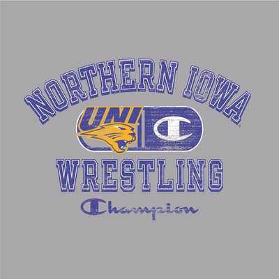Northern Iowa Panthers Champion Wrestling T-Shirt
