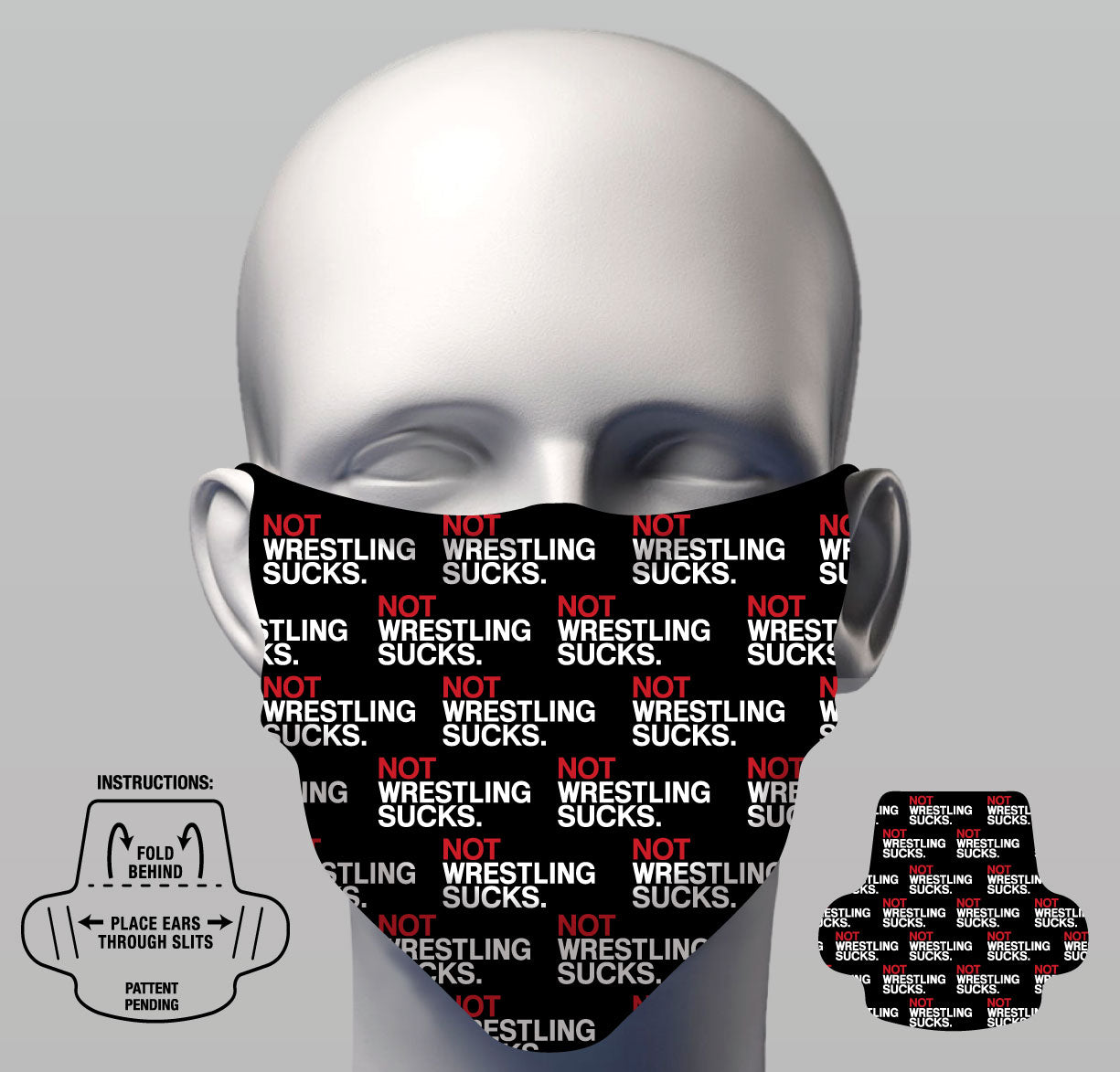 Face Cover - Not Wrestling Sucks