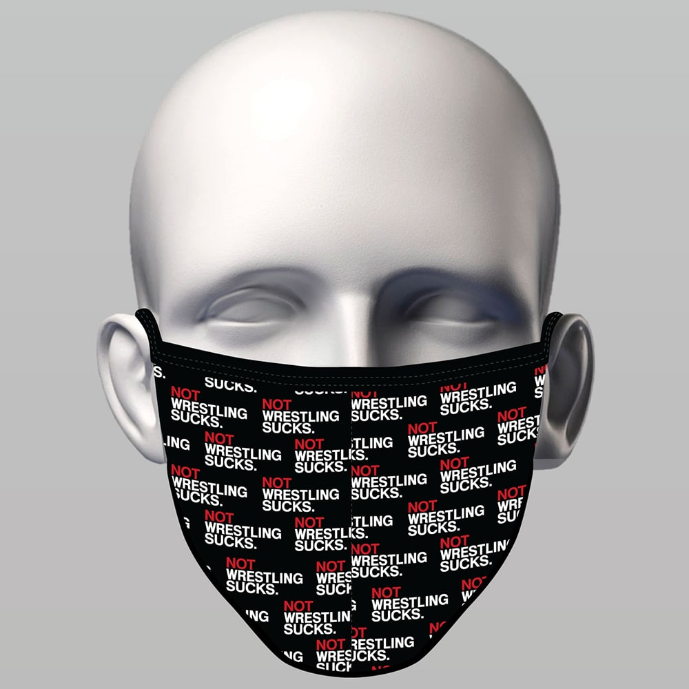 Sewn Face Mask - Not Wrestling Sucks