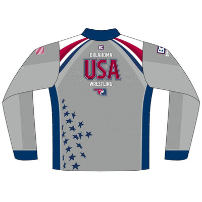 Oklahoma USA Wrestling Quarter Zip 2018