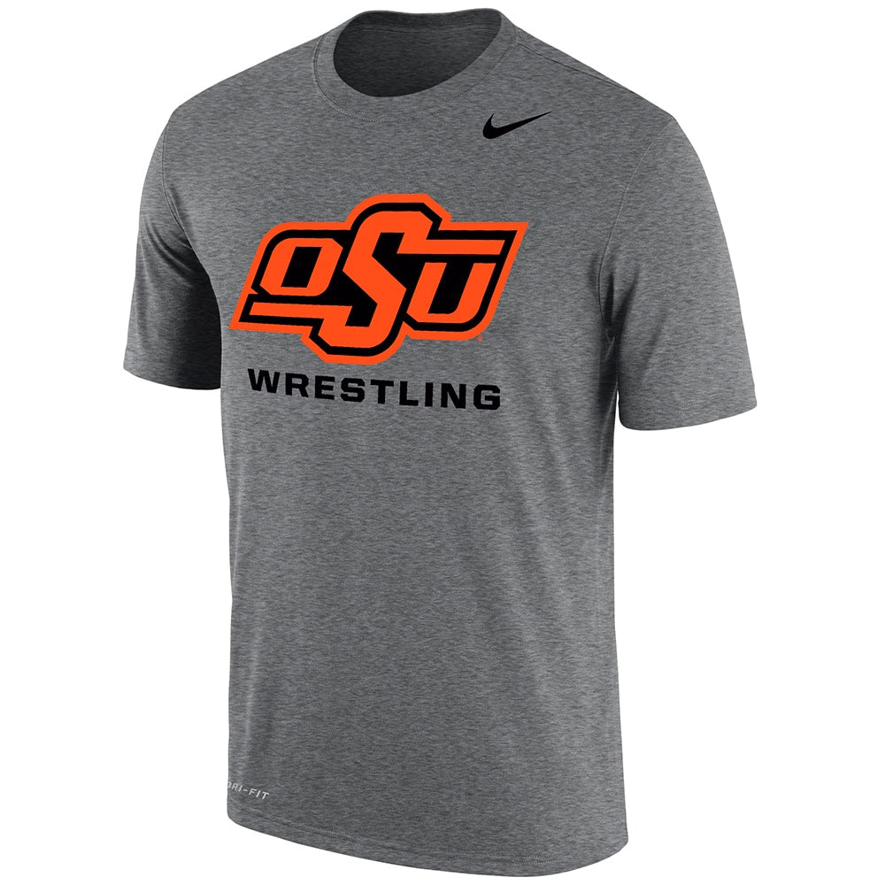 Oklahoma State Cowboys Wrestling Nike Dri-Fit Cotton T-Shirt