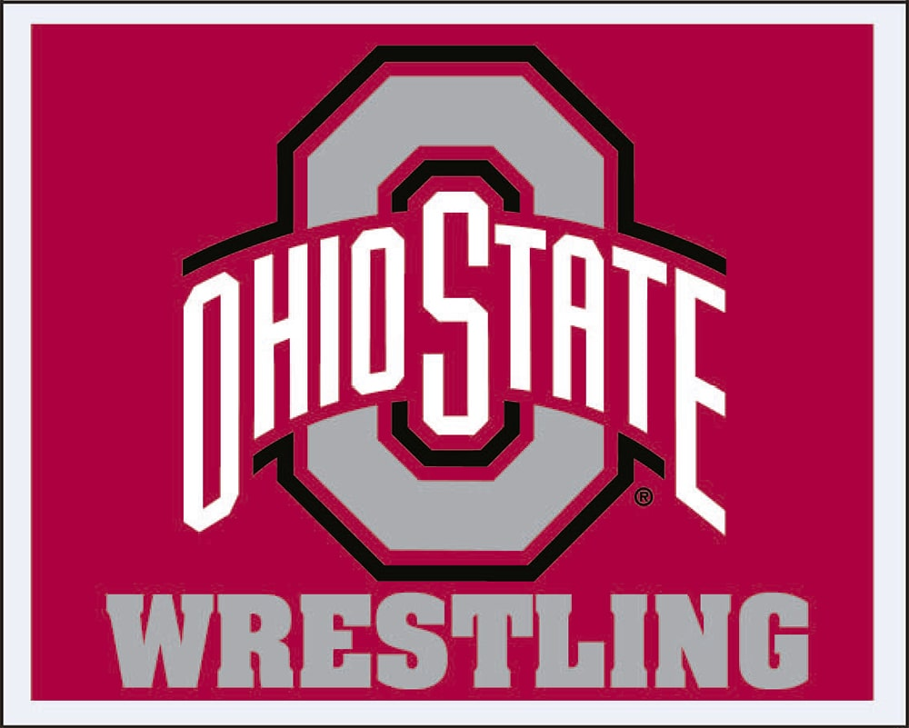 Ohio State Buckeyes Wrestling Multi Use Sticker