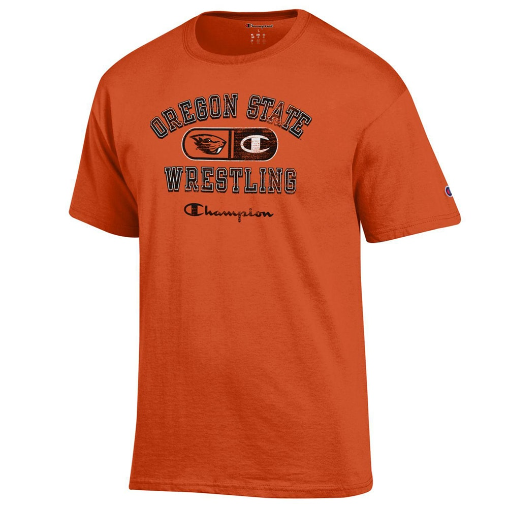 Oregon State Beavers Champion Wrestling T-Shirt