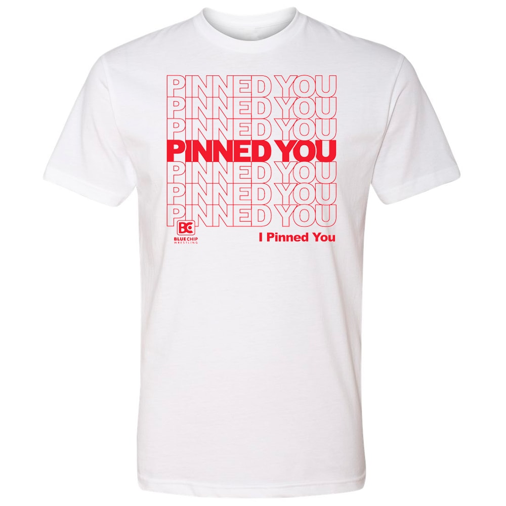 I Pinned You Wrestling T-Shirt
