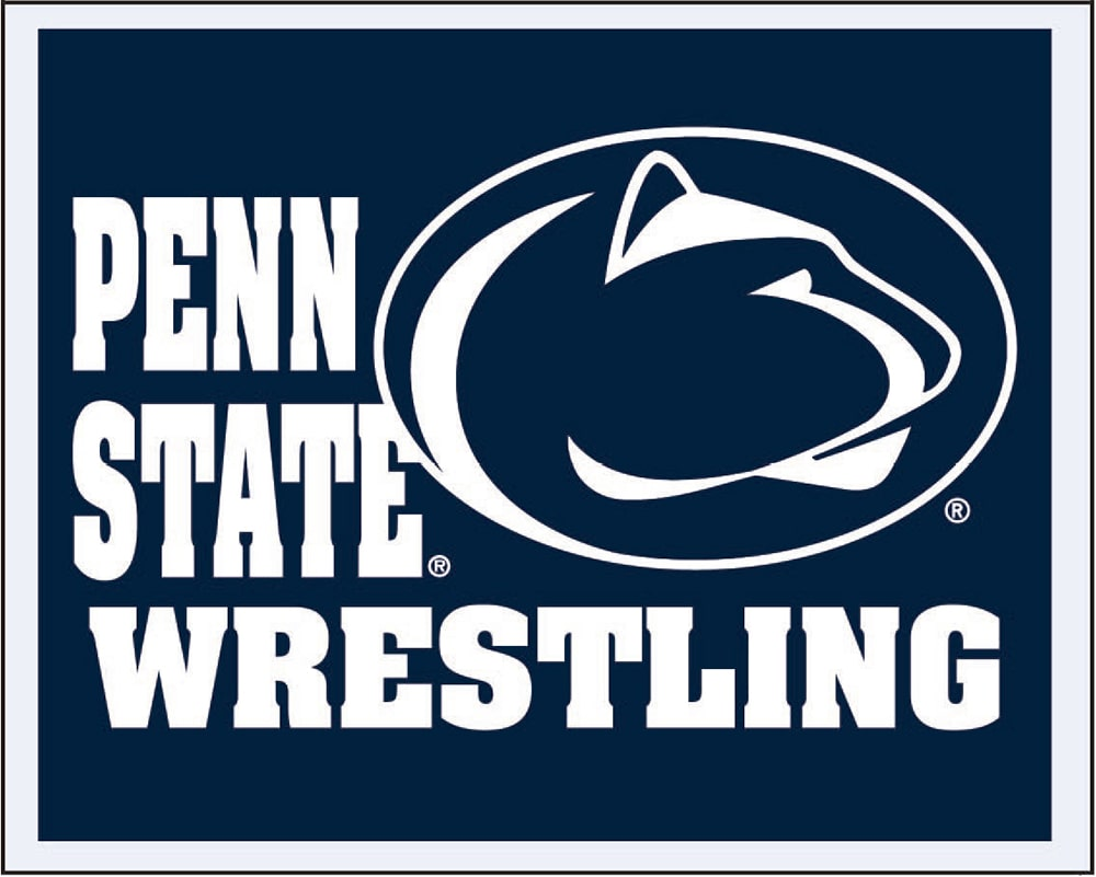 Penn State Nittany Lions Wrestling Multi Use Sticker