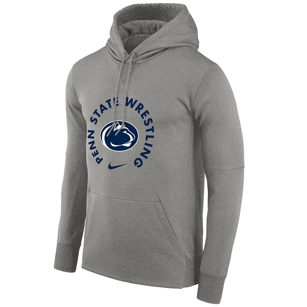 Penn State Nittany Lions Wrestling Nike Therma Pullover Hoodie
