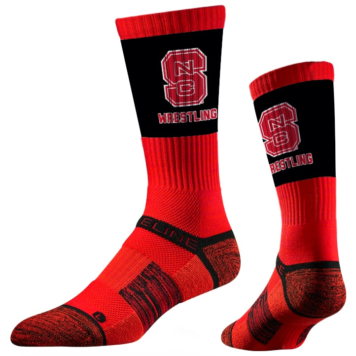 NC State Wolfpack Performance Socks