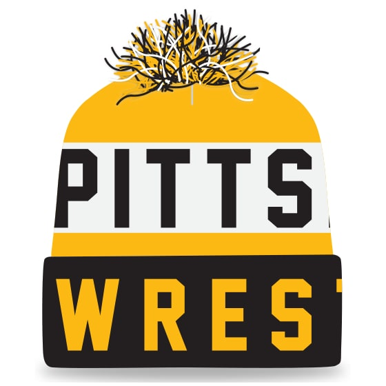 Pittsburg Wrestling Knit In Beanie