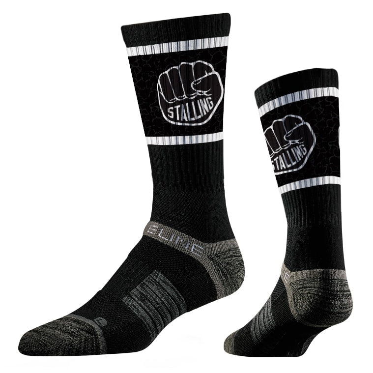 Stalling Fist Wrestling Sublimated Performance Socks