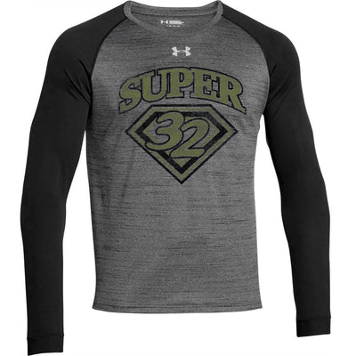 Super 32 Salute Under Armour Raglan Long Sleeve Tee