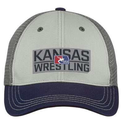 2020 Kansas USA Wrestling Trucker Hat