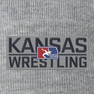 2020 Kansas USA Wrestling Knit Hat