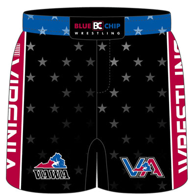 2017 Virginia USA Wrestling Fight Short (Black)