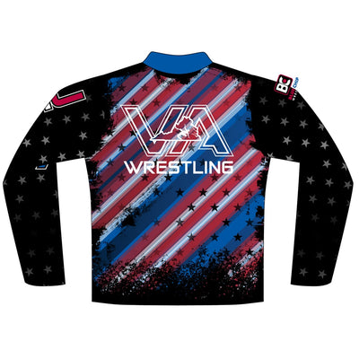 2018 Virginia USA Wrestling Quarter Zip