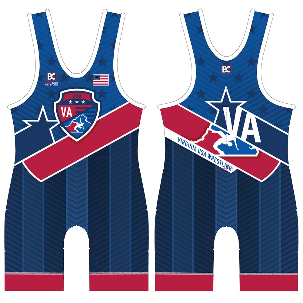 2018-19 Virginia USA Wrestling Singlet
