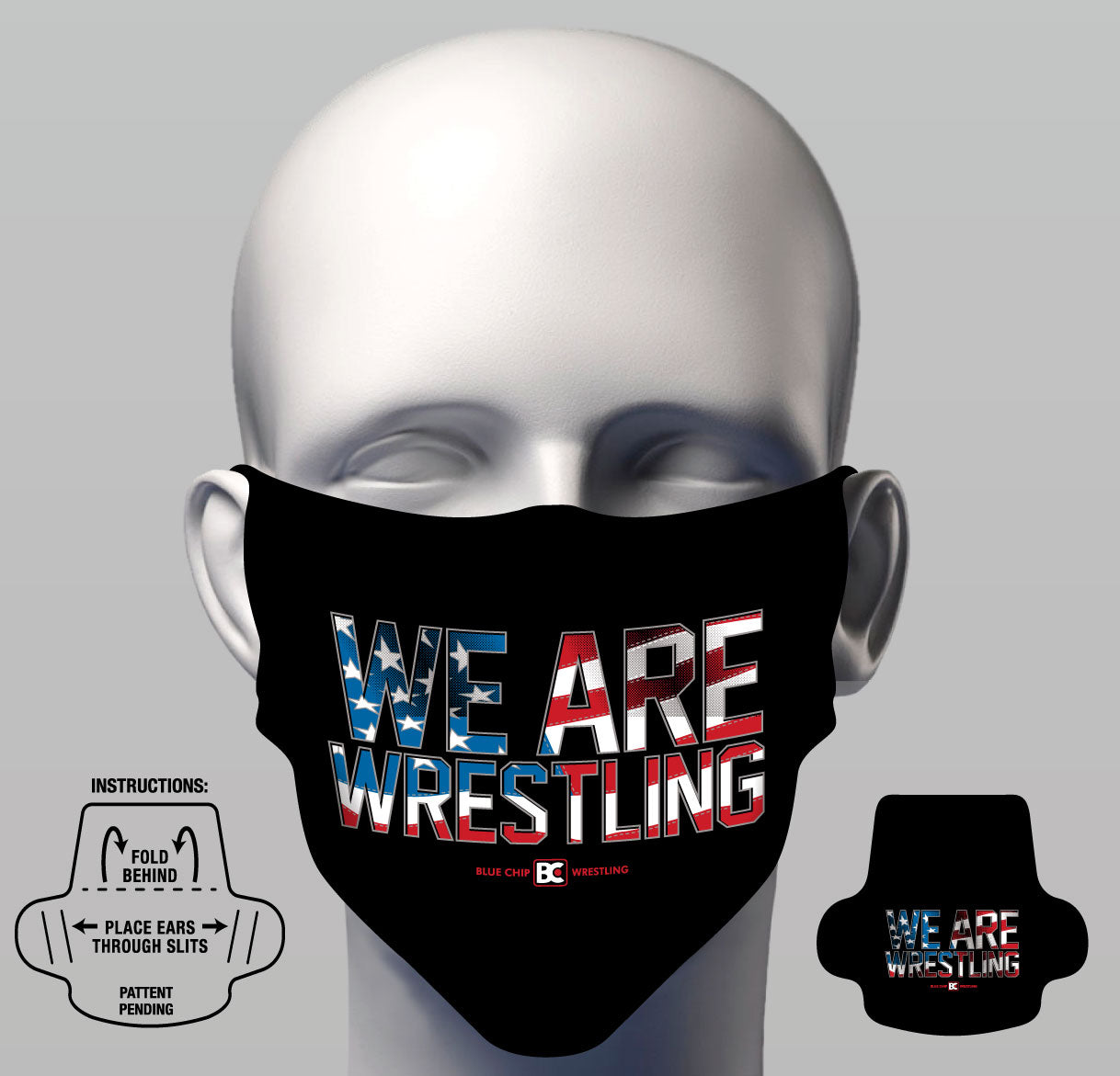 Face Cover - We Are Wrestling