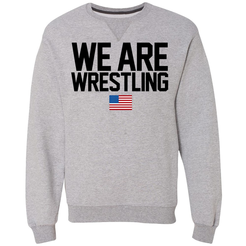 We Are Wrestling Crewneck Sweatshirt