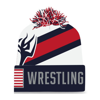 We Are Wrestling Knit In Beanie