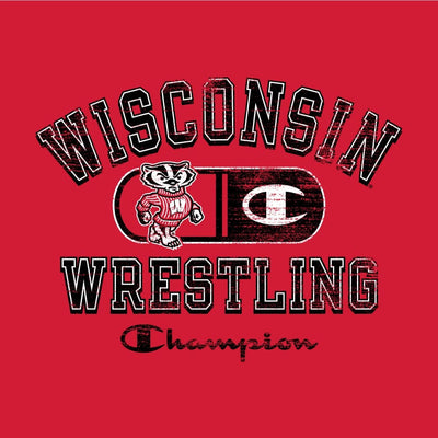 Wisconsin Badgers Champion Wrestling T-Shirt