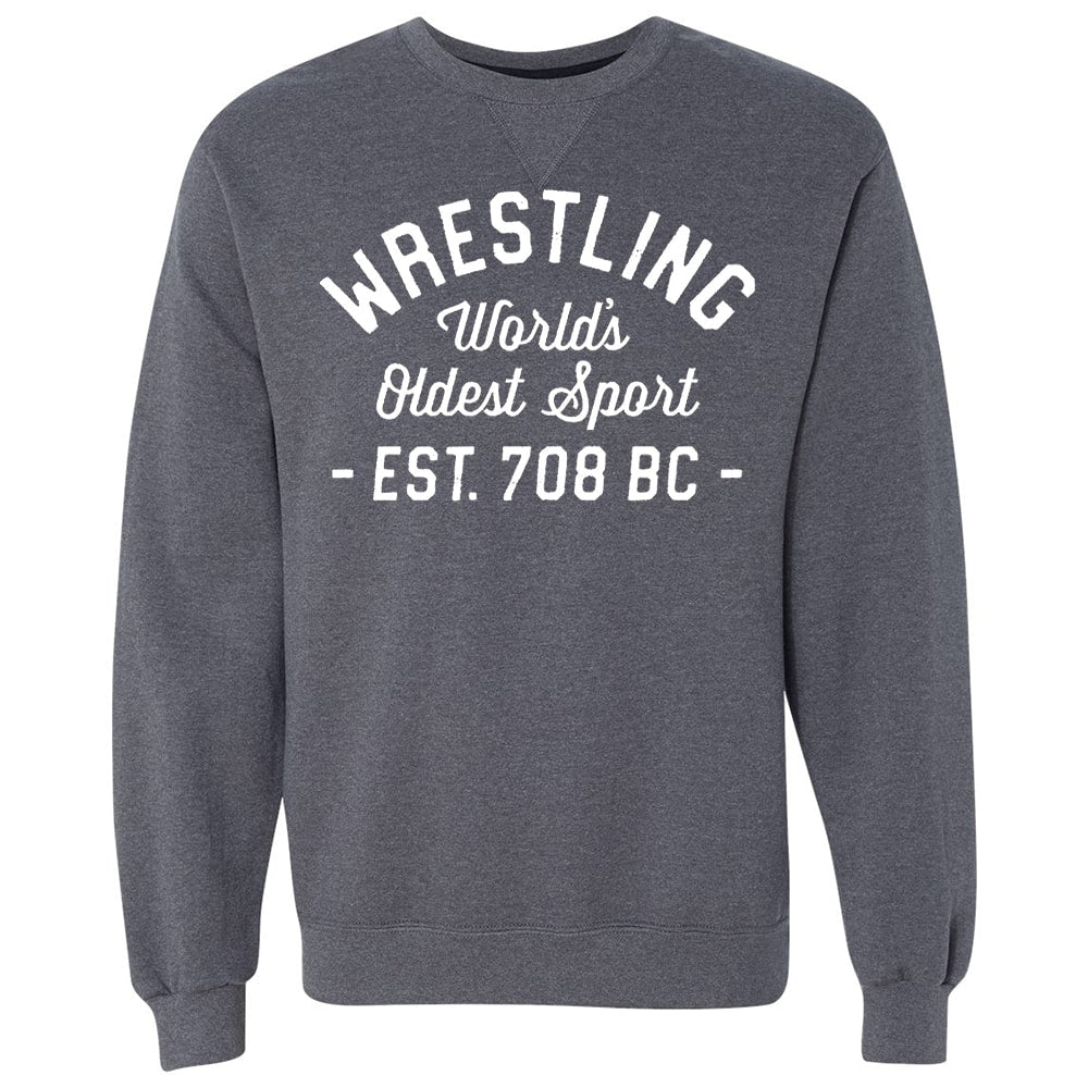 World's Oldest Sport Wrestling Crewneck