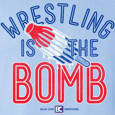 Wrestling Is The Bomb T-Shirt