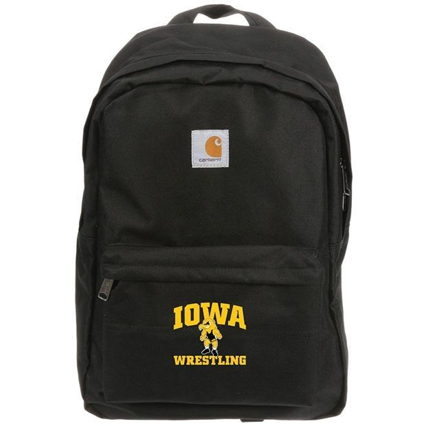 Iowa Hawkeyes Embroidered Carhartt Backpack (Black)