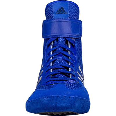 Adidas Combat Speed 5 Wrestling Shoes (Royal / Dark Royal)