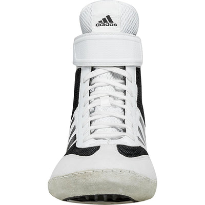 Adidas Combat Speed 5 Wrestling Shoes (White / Black)