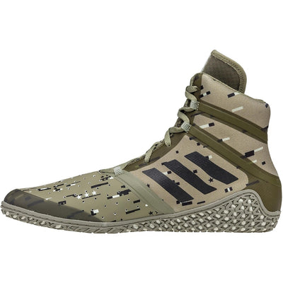 Adidas Impact Wrestling Shoes (Digital Camo Print)