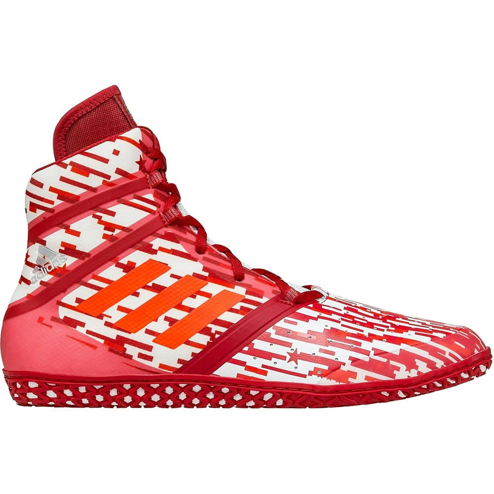 Adidas Impact Wrestling Shoes (Red