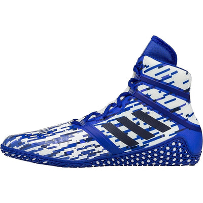 Adidas Impact Wrestling Shoes (Royal Digital Print)