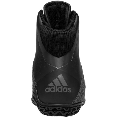 Adidas Mat Wizard 4 Wrestling Shoes (Carbon / Black)