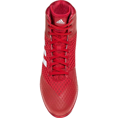 Adidas Mat Wizard 4 Wrestling Shoes (Red / White)
