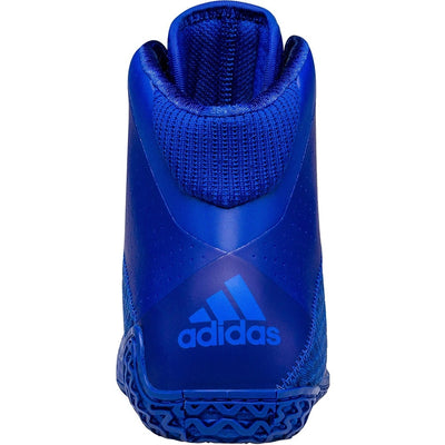 Adidas Mat Wizard 4 Wrestling Shoes (Royal / White)