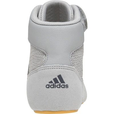Adidas Youth HVC 2 K Wrestling Shoes (Light Onyx / Dark Onyx)