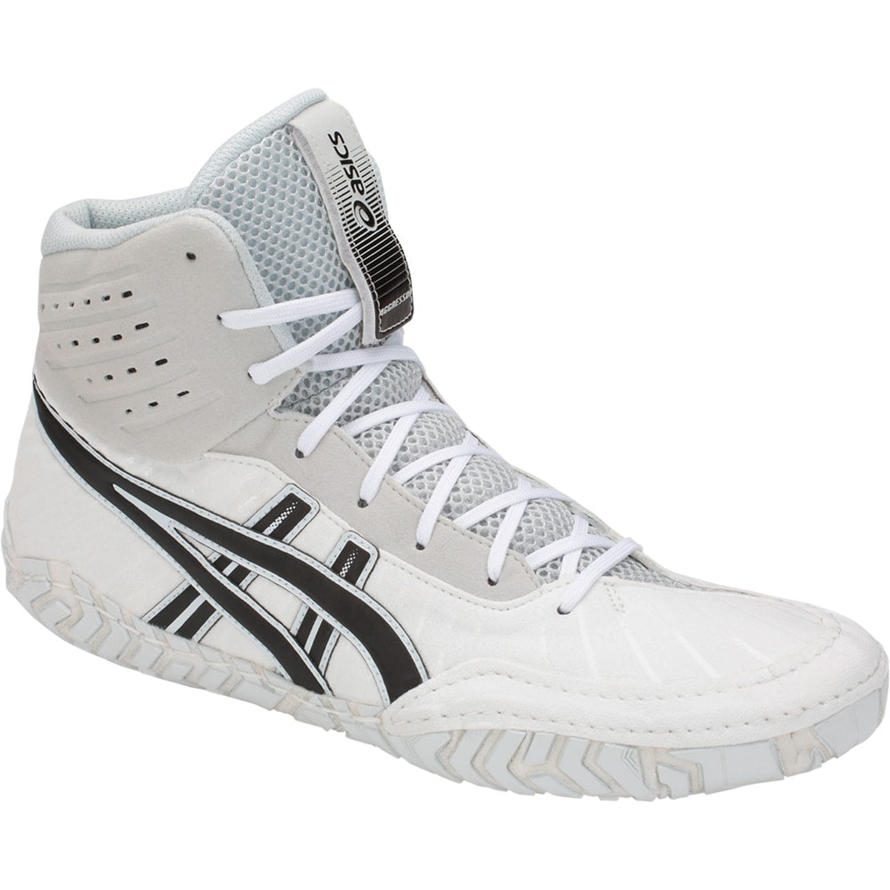 Asics Aggressor 4 (White / Black)