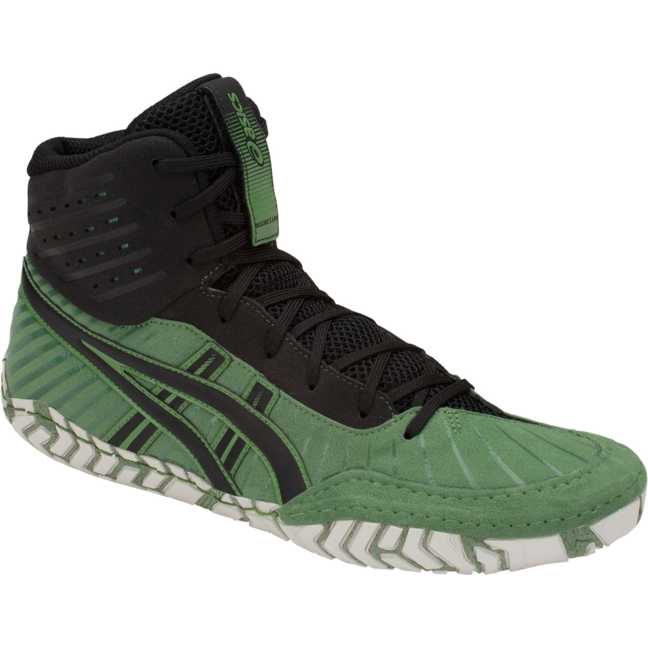 Asics Aggressor 4 (Cedar / Green / Black)