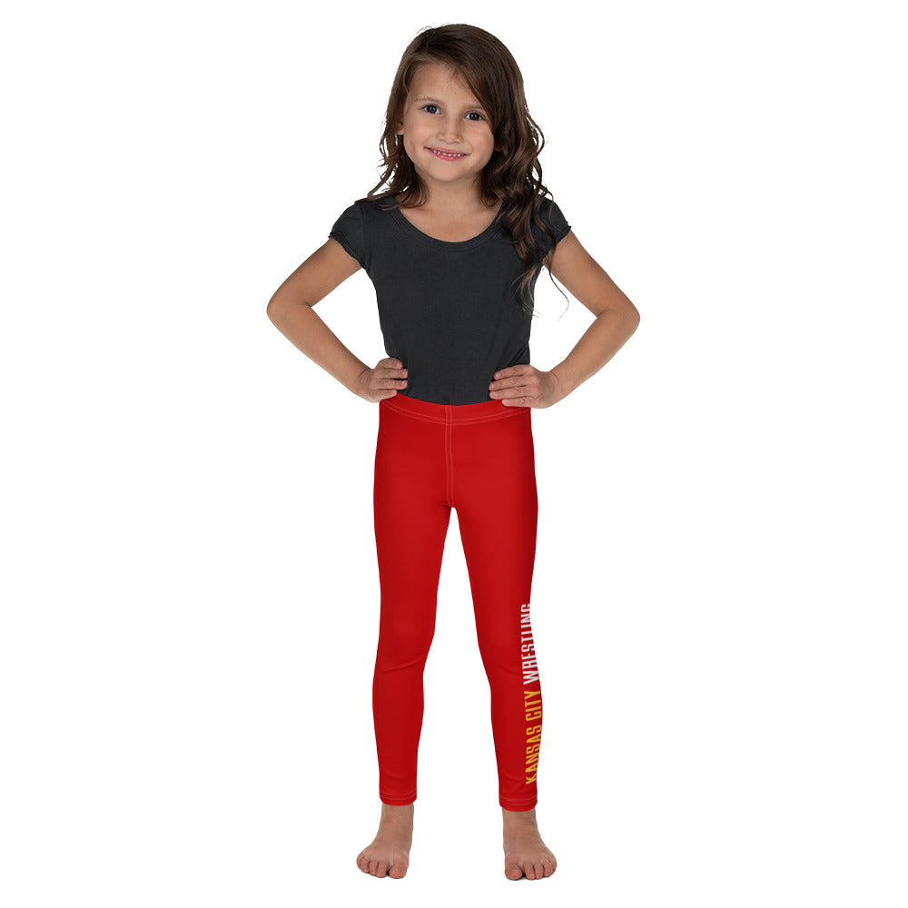 Kansas City Wrestling Kid's Leggings